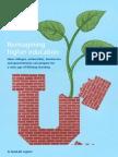 Reimagining Higher Education
