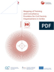 Mapping of Training and Consultancy Providers for Civil Society Organizations in Serbia