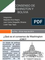 Exposición Consenso de Washington