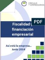Fiscalidad y Financiación Empresarial-Así Está La Empresa-junio 2014-Círculo de Empresarios