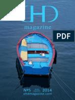 EHD magazine NÚMERO 5 - JULIO Y AGOSTO 2014