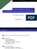 Le Norme di Buona Preparazione in Medicina Nucleare