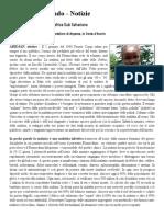 Il Dramma Della Malaria in Africa - Italiani Nel Mondo