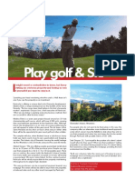 Play Golf and Ski - Gaspar Lino