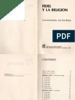Fidel y La Religión. Conversaciones Con Frei Betto Parte 1