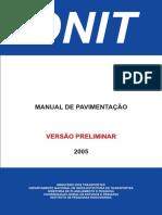 Manual de Pavimentação - Versão Inicial