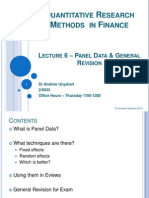 Lecture 6_Panel Data