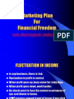 marketing plan for financial freedom - albert