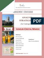 Analyse Stratégique Lessieur Cristal Complet
