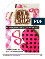The Love Recipe by Gladys Cheow