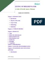 Company Profile of Bisleri