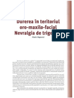 Durerea in teritoriul oro-maxilo-facial ~ Nevralgia de trigemen