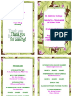 St. Peter Program PTI