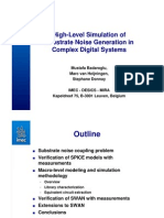 #High-Level Simulation of Substrate Noise Generation in Complex Digital Systems