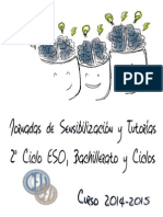 J-sensibilacion y Tutorias 3-4eso y Bachillerato