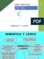 Semc3a1ntica y Lc3a9xico