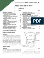 36 - Dodge Dakota - Manual de Manutencao - Console de Teto