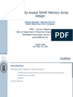 Statistically-Aware SRAM Memory Array Design