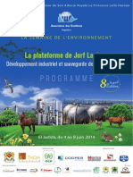 Programme Env 2014 DEF