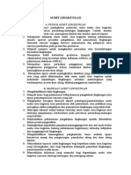 Fungsi Audit Lingkungan