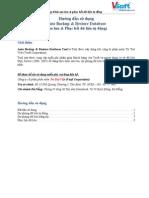 HDSD Auto Backup Restore DB