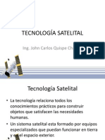 TECNOLOGÍA SATELITAL