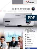 Optoma XGA Data projector EX5301 special offer