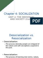 Chapter 4 Socialization - FE 401