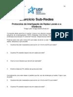 Exercicio Sub Redes