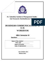 Workbook SEM III