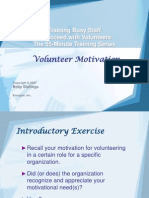 4Volunteer Motivation