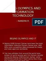 Beijing Olympics and Information Technology