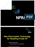 New Electrostatic Technology for Desalting Crude Oil