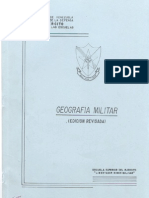 Manual de Geografia Militar