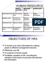 Cost of Human Resource