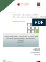 """étude Franche-Comté """"Efficacité énergétique, quels emplois pour demain ?"""" - Partie 3 preconisations"""