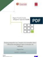 """étude Franche-Comté """"Efficacité énergétique, quels emplois pour demain ?"""" - Partie 5 Sources"""