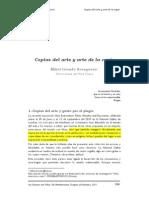 """""""Copias del arte y arte de la copia"""" de Mikel Iriondo Aranguren"""