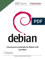 Tutorial Instalacao Linux Debian604