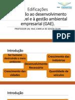 Aula 1_Introdução Ao Desenvolvimento Sustentável e GAE