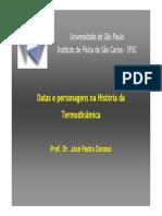História Da Termodinâmica - Física