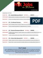 Hot Jobs list 06-27-2014 (1)