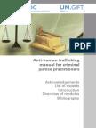 Anti Human Trafficking Manual for Criminal Justice Practiioners