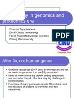 Immunology in Genomics and Proteomics Era