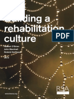 Building a Rehabilitation Culture