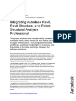 Linking Autodesk Revit Revit Structure and Robot Structural Analysis Professional-Whitepaper