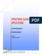 Structural Glass applications