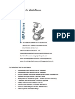 Project Report Titles for MBA in Finance