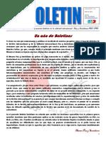 Boletin nº13 del Ateneo Paz y Socialismo - Julio de 2014