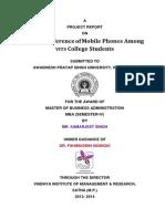 Samarjeet Mobile Project Report Final